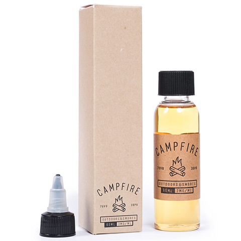 Campfire E-Liquid - Outdoors & Smores (NZ-Stock)