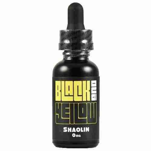 Black and Yellow eLiquid - Shaolin (NZ-Stock)