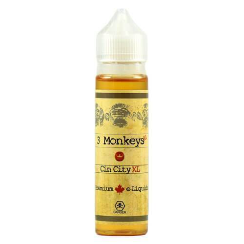 3 Monkeys Premium E-Liquids - Cincity