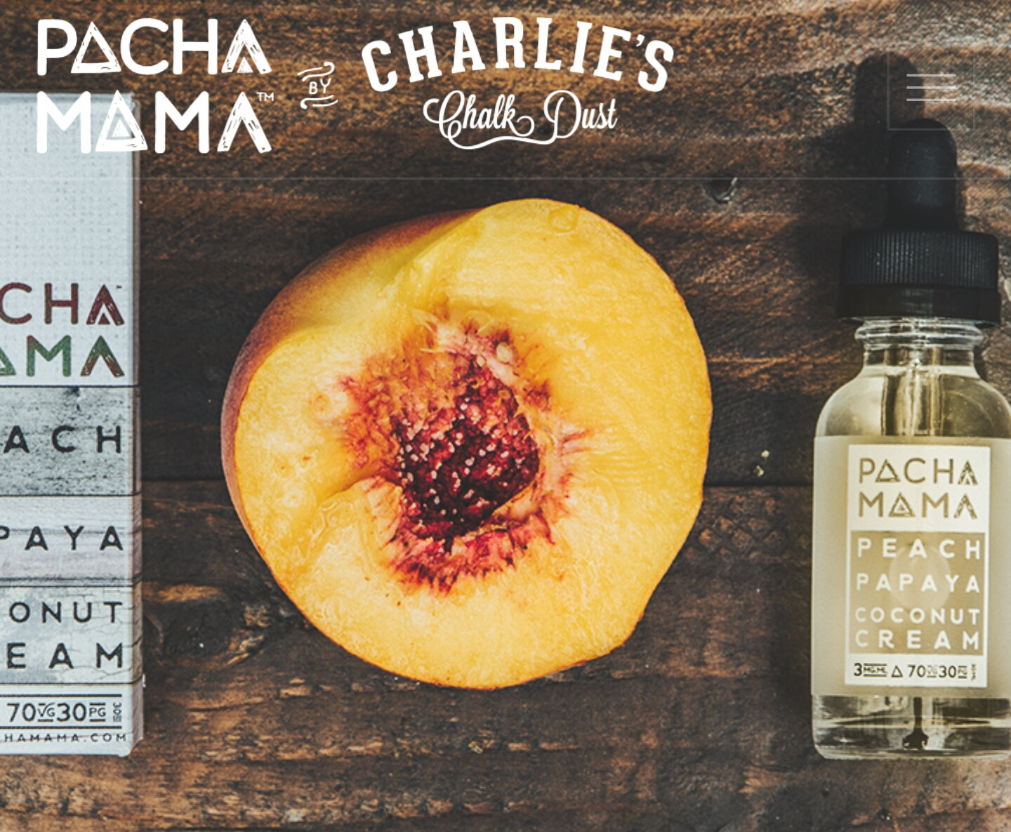 Pachamama - Peach Papaya Coconut Cream (NZ-Stock)