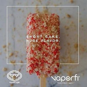 Vaporfi strawberry shortcake