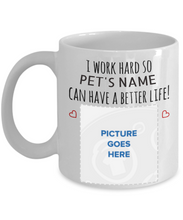 Personalized Pet Lover's Mug