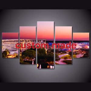 5 Pieces Canvas Custom Image