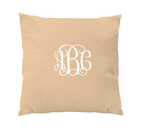 Custom Pillow with monogram