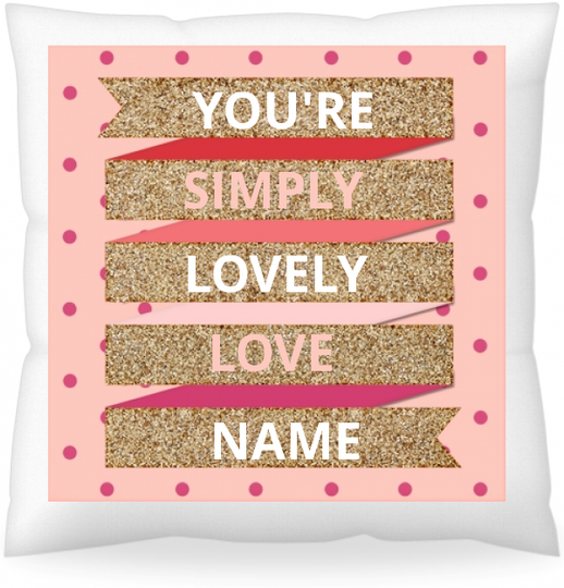 Personalized Cushion (With Price Increase)