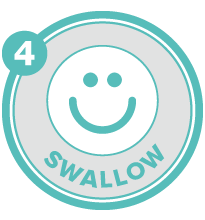 Swish To Go is safe to swallow and therefore reduces the bacteria at the back of the mouth that is often the cause of bad breath.