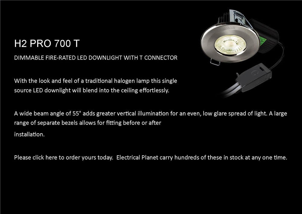 Collingwood H2 Pro 700 T LED Downlight available from stock