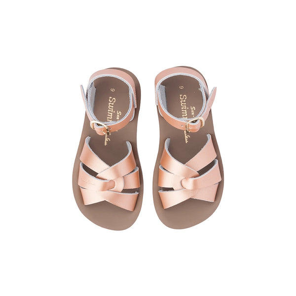 Saltwater Sandals Sun San Swimmer - Rose Gold