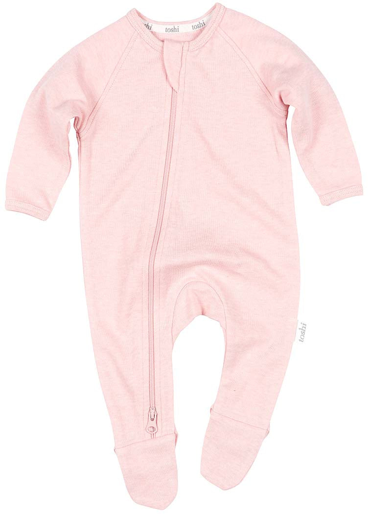 Toshi Organic Long Sleeve Onesie - Dreamtime / Cashmere