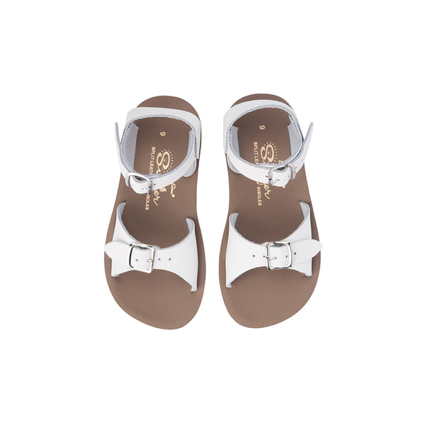 Saltwater Sandals Sun San Surfer - White