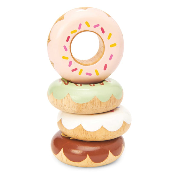 Wooden Doughnut Set