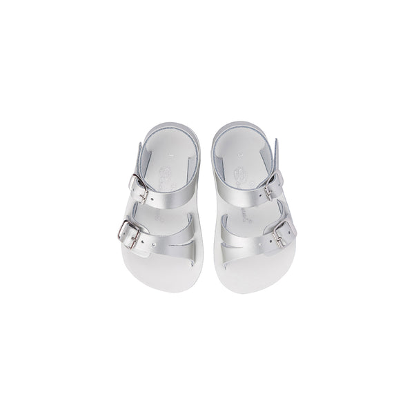 Saltwater Sandals Sun San Sea-Wee - Silver