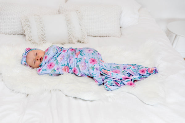 Baby Swaddle Wrap - Floral