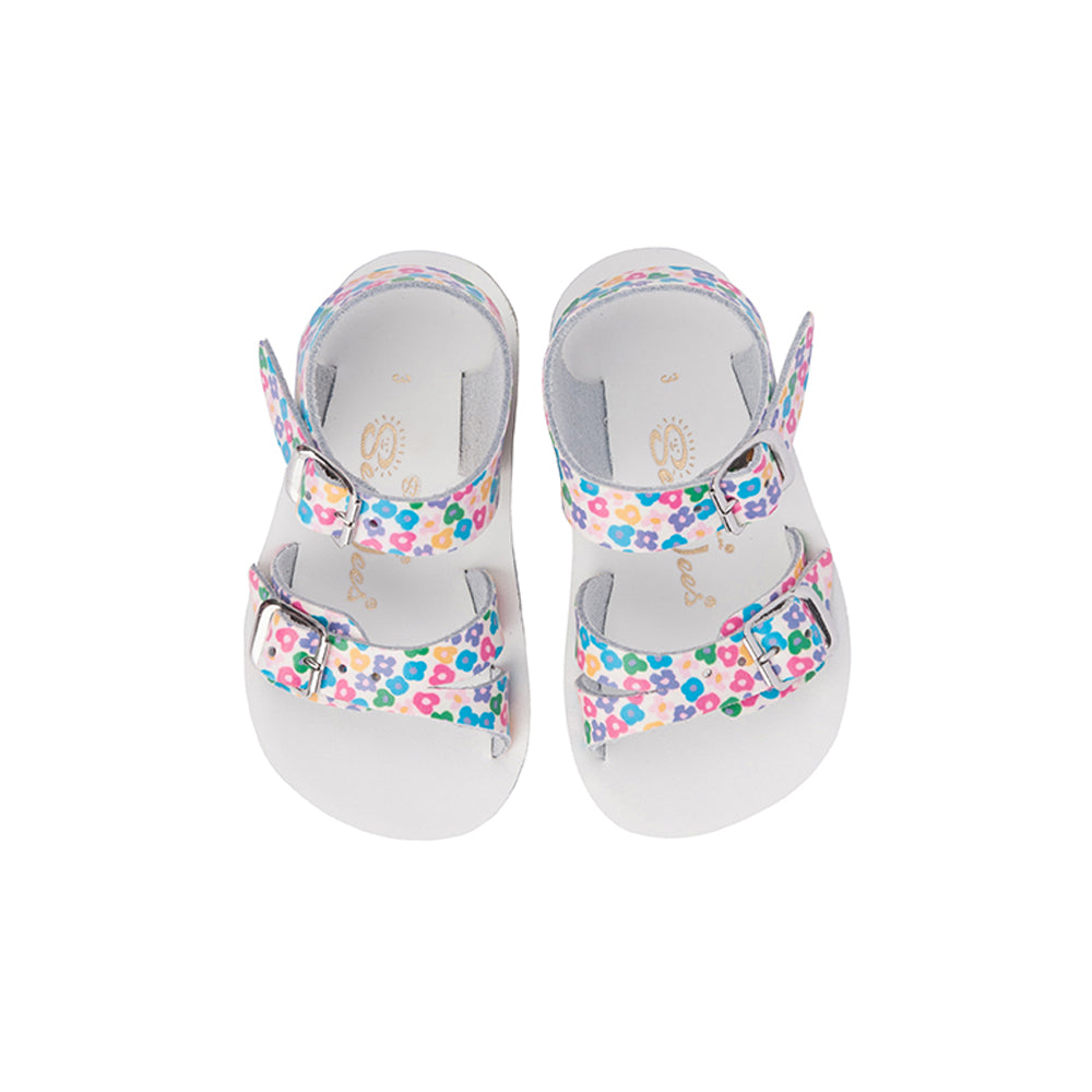 8ce9e220b4ecb Salties   Buy Saltwater Sandals Sea Wee - floral at Daisy and Hen