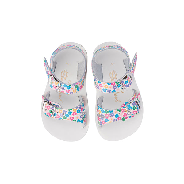 Saltwater Sandals Sun San Sea Wee - Floral