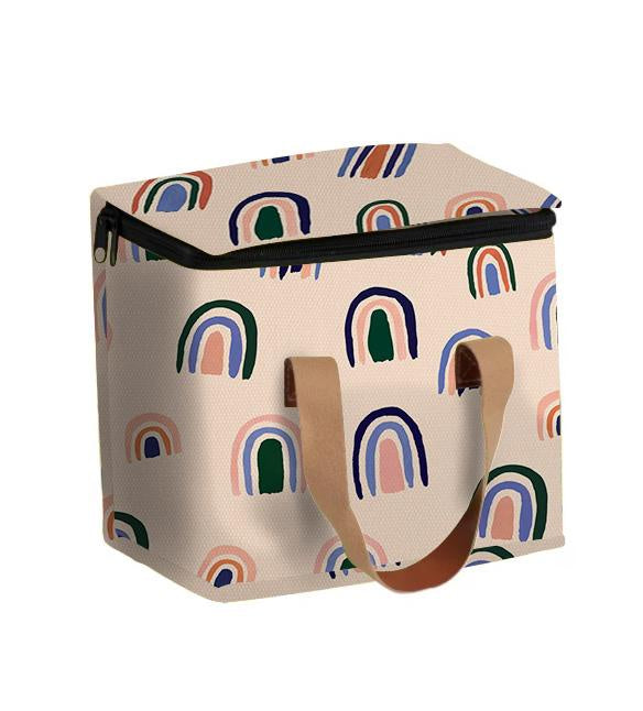 Medium Lunch Bag - Ochre Rainbows