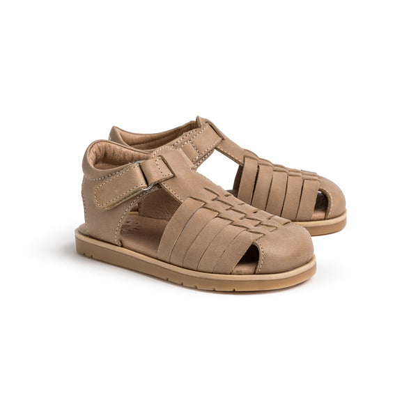 Pretty Brave Frankie Child Sandal - Taupe
