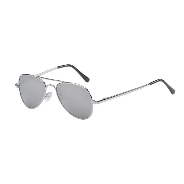 Kid Sunnies Jet - Silver (3+ years)