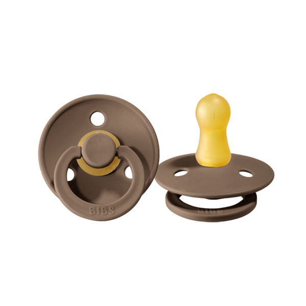 Bibs Pacifier 2 Pack - Dark Oak