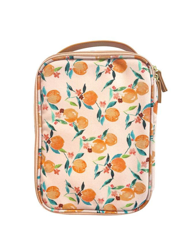 Lunch Case - Orange Blossom
