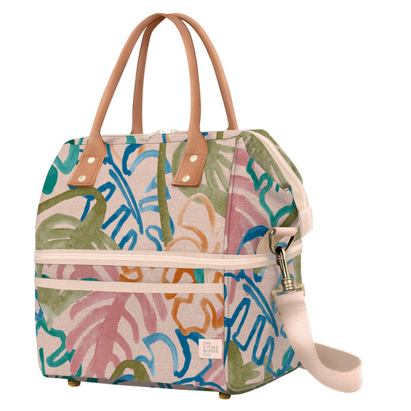 Cooler Bag - Wild Monstera
