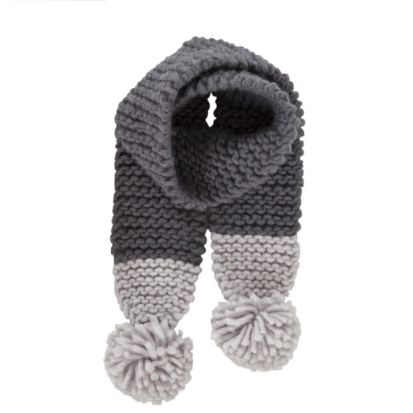 Traveller Chunky Scarf - Grey