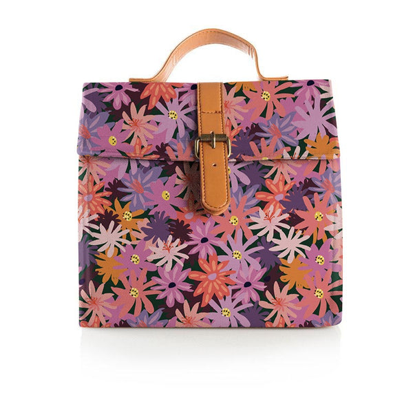 Lunch Satchel - Floral Forest