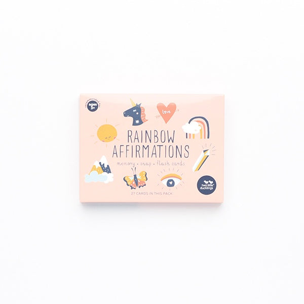 Snap and Memory Game - Rainbow Affirmations