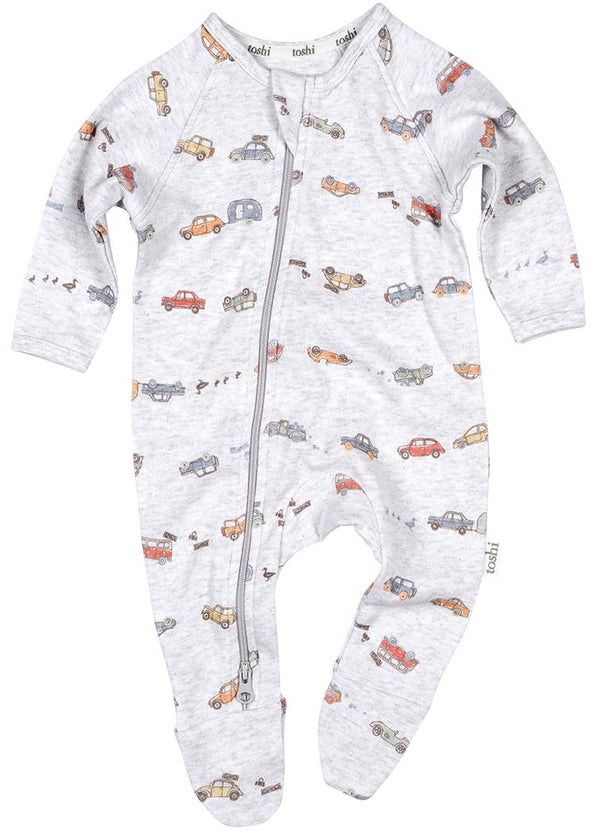 Toshi Onesie Long Sleeve - Duck Duck