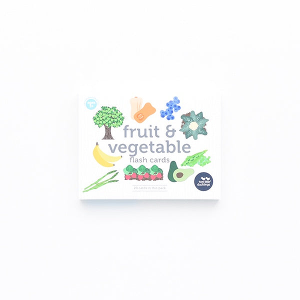 Flash Cards - Fruit and Vegetables