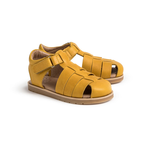 Pretty Brave Rocco Child Sandal - Mustard