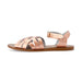 Saltwater Sandals Mama Sizes Retro - Rose Gold