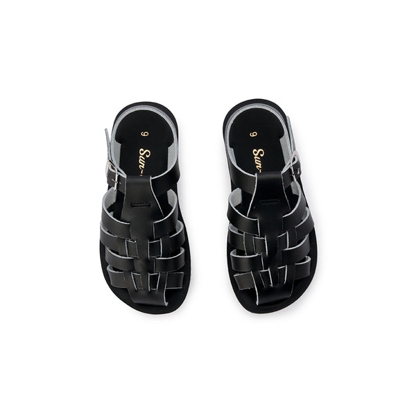 Saltwater Sandals Sun San Sailor - Black