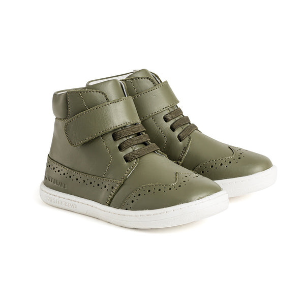 Pretty Brave Harley Boot - Olive