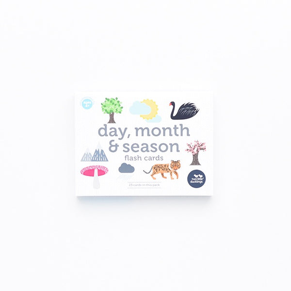 Flash Cards - Days, Months and Seasons
