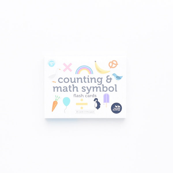 Flash Cards - Counting and Math Symbols