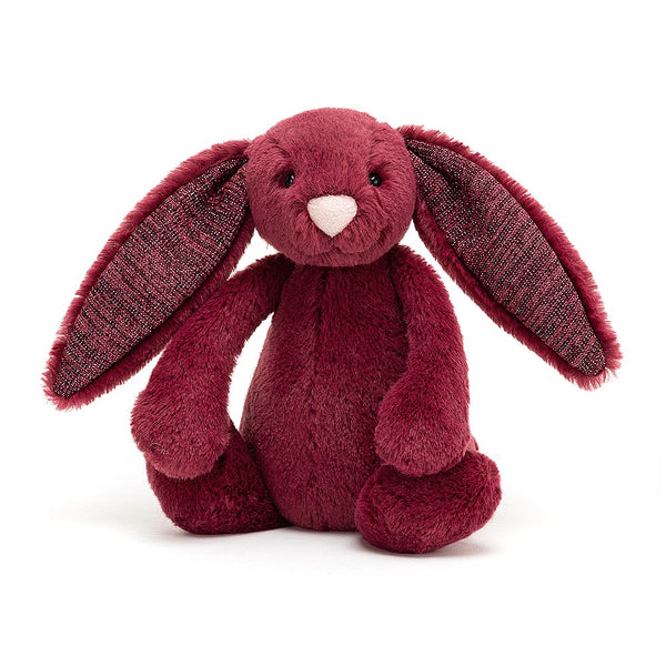 Jellycat Bashful Bunny Small - Sparkly Cassis