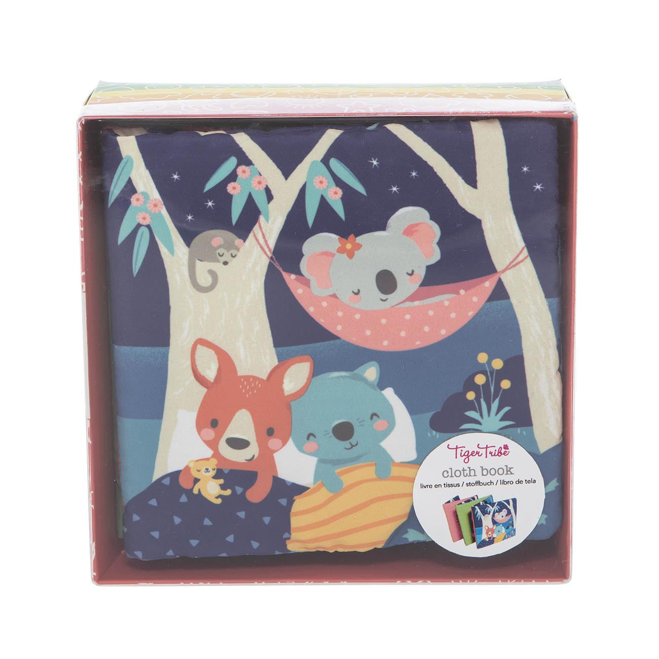 Tiger Tribe Baby Cloth Book - Gumtree Buddies: Buy online