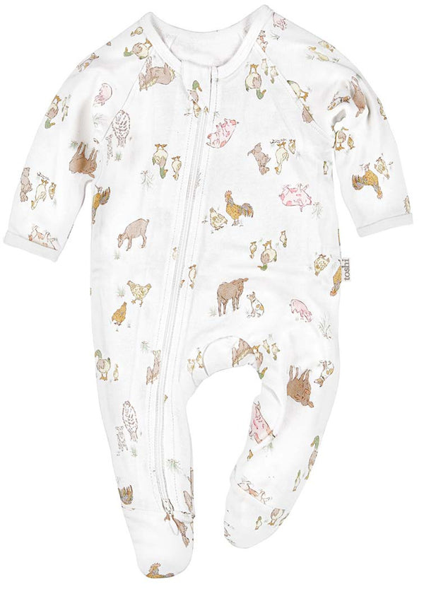 Toshi Onesie Long Sleeve - Farmers Family