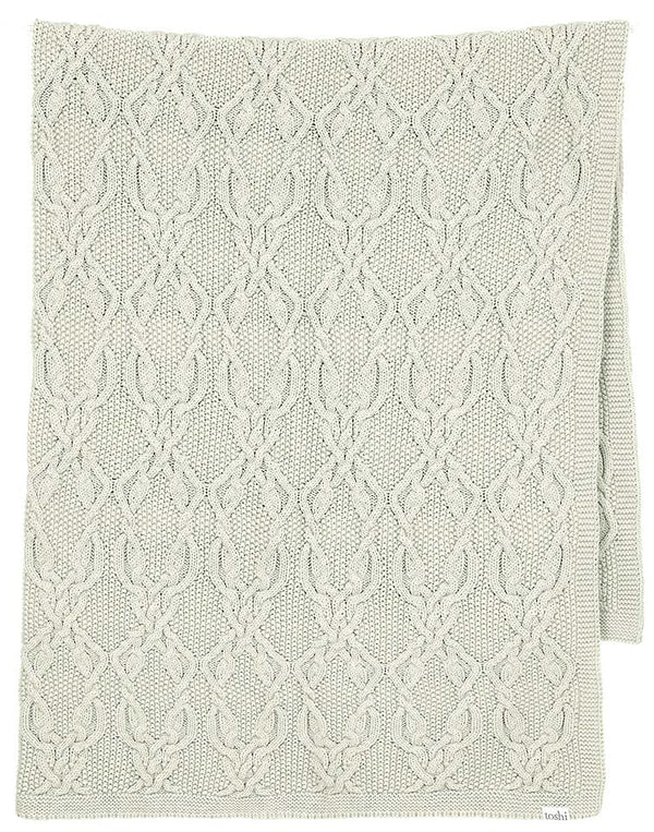 Toshi Organic Blanket - Bowie / Thyme
