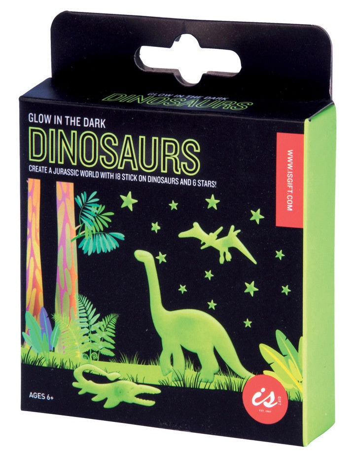 Glow in the Dark Stick Ons - Dinosaurs