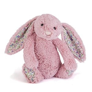 Jellycat Bashful Blossom Bunny Small - Tulip Pink
