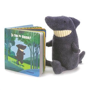 Jellycat - Is This My Home? Toothy Shark Book
