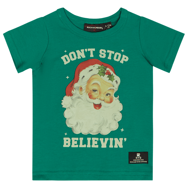 Rock Your Baby Don't Stop Believin' T-Shirt - Baby