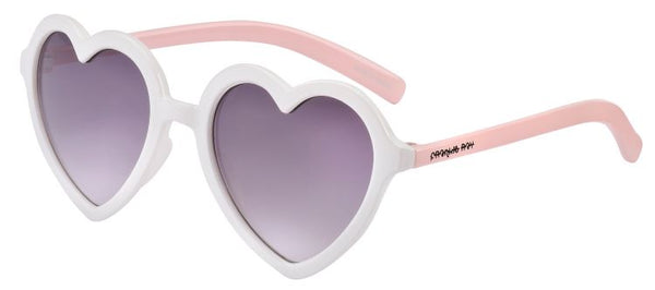 Toddler Sunnies Heart - Milkshake (2-3 years)