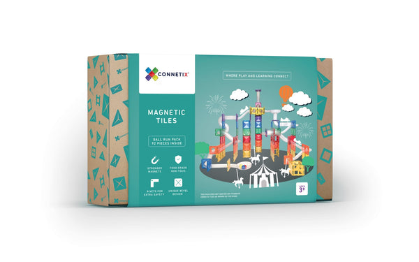 IN STOCK Connetix Tiles - 92 Piece Ball Run