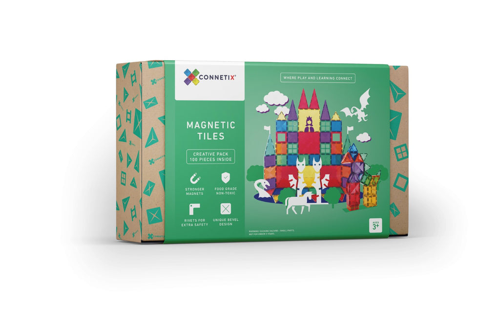 INSTOCK Connetix Tiles - 100 Piece Set