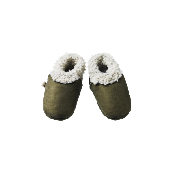 Nature Baby Lambskin Booties - Cypress
