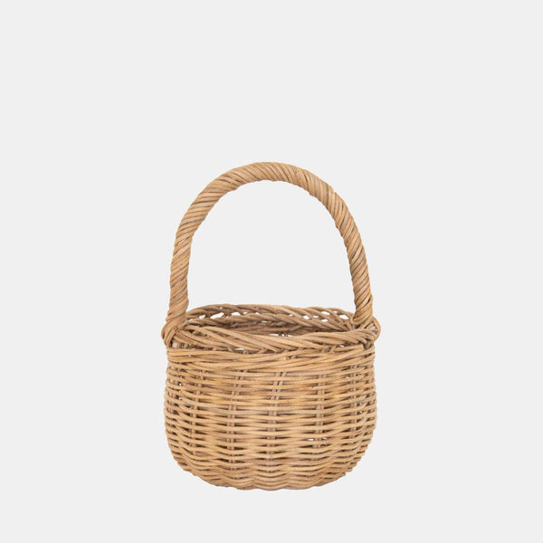 Olli Ella Rattan Berry Basket - Natural