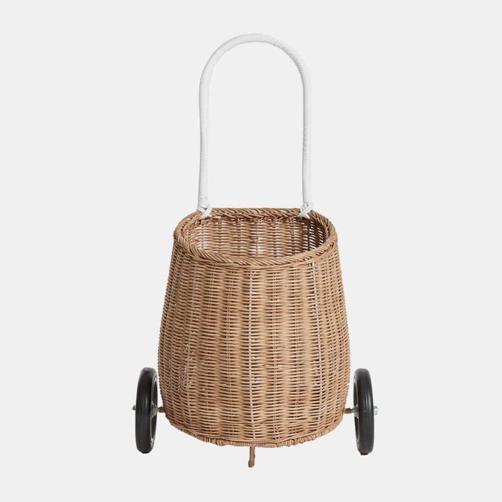 Olli Ella Rattan Luggy Basket - Natural
